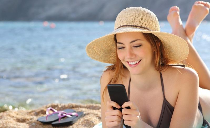 Chip para usar o celular em uma viagem