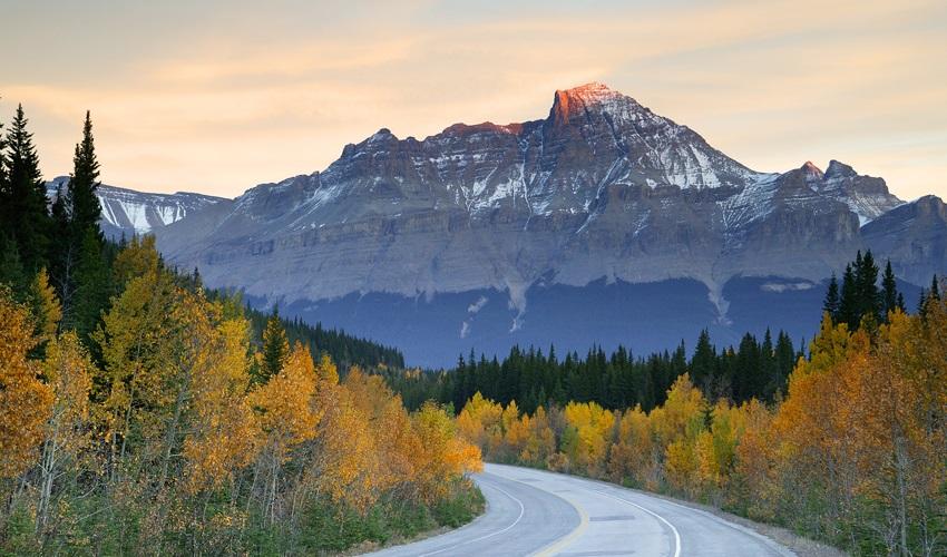 Estradas de carro no Canadá