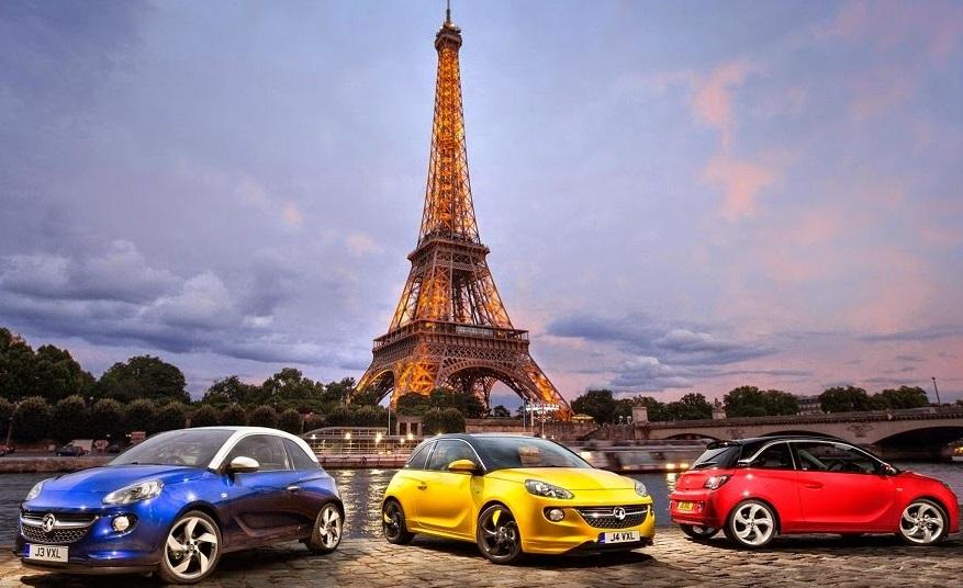Aluguel de carro na França - Paris